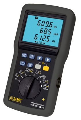 Picture of AEMC 8220 Power Quality Meter