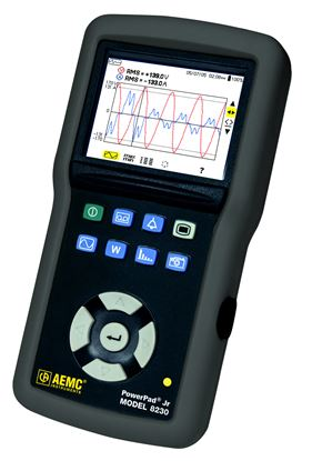 Picture of AEMC 8230 PowerPad Jr. Power Quality Meter