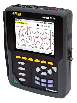 Picture of AEMC 8335 Three-Phase Power Quality Analyzers