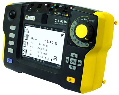 Picture of AEMC C.A 6116N Multi-Function Installation Tester with DataView Software (#2138.06)