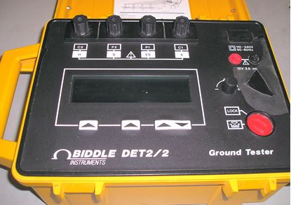 Picture of Biddle Det2/2 Earth Ground Tester
