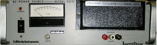 Picture of California Instruments 351TC AC Power Source