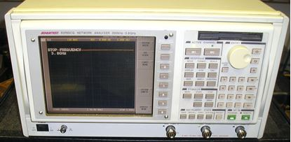Picture of Advantest R3765CG 300 kHz-3.8 Ghz Network Analyzer