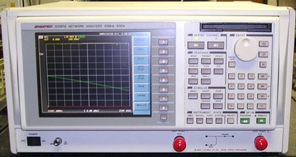 Picture of Advantest R3767B Color 8 GHz Network Analyzer