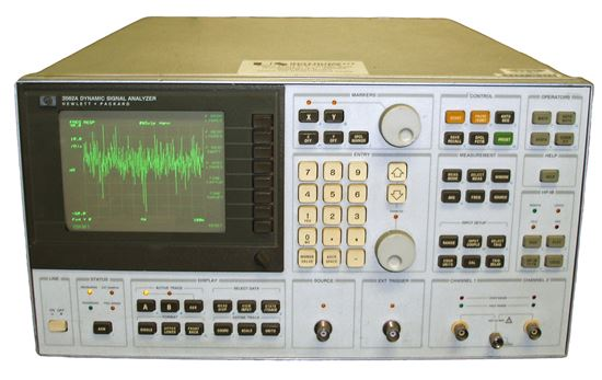 Picture of Agilent/HP 3562A 100 Khz Dynamic Signal Analyzer