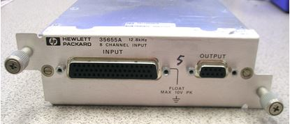 Picture of Agilent/HP 35655A 8 Channel Input Module