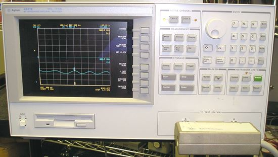 Picture of Agilent/HP 4291B RF Material/Impedance Analyzer