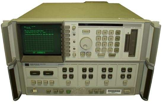 Picture of Agilent/HP 8510B Network Analyzer