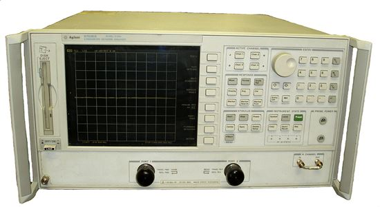 Picture of Agilent/HP 8753ES 6 GHz S-Parameter Network Analyzer