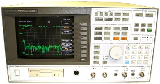 Vector Signal Analyzer : Us instrument services agilent hp a mhz vector