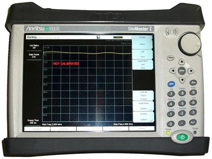Picture of Anritsu S331E Sitemaster 4 GHz Cable and Antenna Analyzer