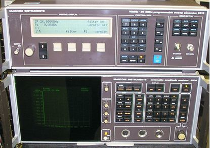 Picture of Aeroflex/Marconi 6500 / 6313 Scalar Network Analyzer System