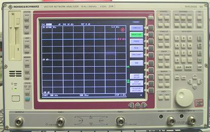 Picture of R&S 4 Ghz ZVR Vector Network Analyzer