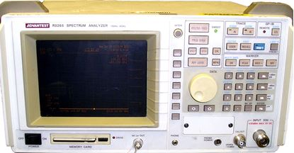 Picture of Advantest R3265 8 GHz Spectrum Analyzer