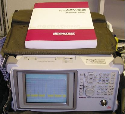 Picture of Advantest U3641 3 GHz Spectrum Analyzer
