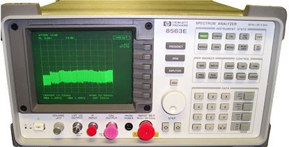 Picture of Agilent/HP 8563E 26.5 GHz Spectrum Analyzer with options