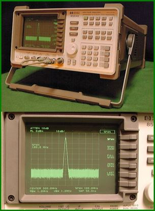 Picture of Agilent/HP 8564E 40 Ghz Spectrum Analyzer