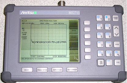 Picture of Anritsu MS2711 3 Ghz Spectrum Analyzer