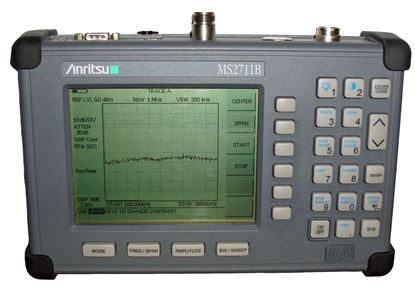 Picture of Anritsu MS2711B 3 GHz Spectrum Analyzer