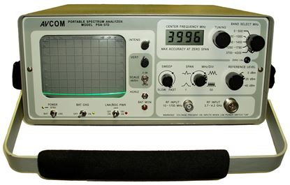Picture of Avcom PSA-37D Portable Spectrum Analyzer