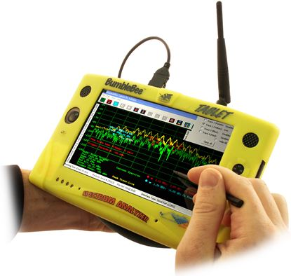 Picture of Berkely Varitronics Bumblebee Tablet Portable Wi-Fi Spectrum Analyzer