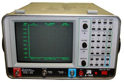 Picture of IFR/Aeroflex A-7550 1 GHz Spectrum Analyzer