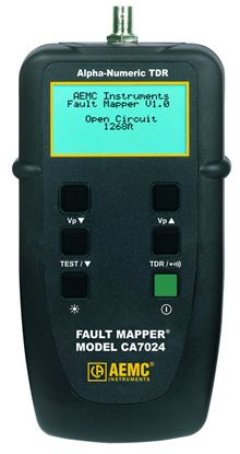 Picture of AEMC CA7024 TDR Cable Length Meter & Fault Locator Fault Mapper