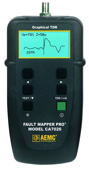 Picture of AEMC CA7026 Fault Mapper Pro Telephone/Coaxial/Parallel Cable Tester Graphical TDR