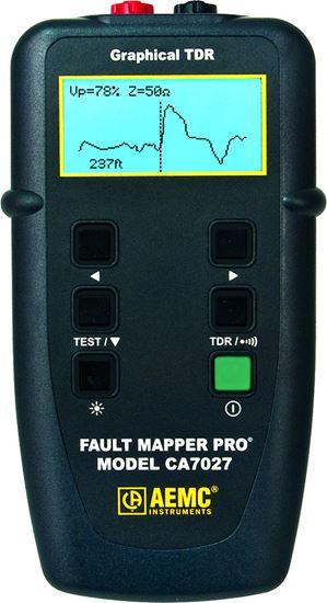 Picture of AEMC CA7027 Pro Graphical TDR Fault Mapper
