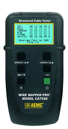 Picture of AEMC CA7028 Wire Mapper Pro Fault Mapper