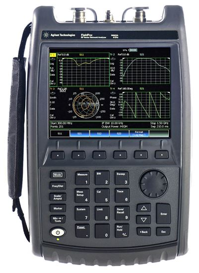 Picture of Agilent/HP Fieldfox N9912A 4 GHz RF Cable/Spectrum Analyzer