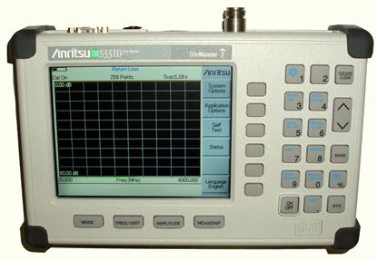Picture of Anritsu S331D 4 GHz Cable and Antenna Analyzer