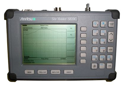 Picture of Anritsu S810C 3.3MHz to 10GHz Sitemaster