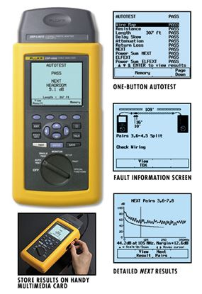 Picture of Fluke DSP-4000 Cable Analyzer