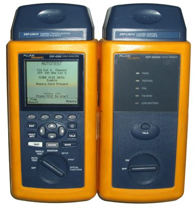Picture of Fluke DSP-4300 CAT 5/6 Cable Tester