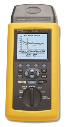 Picture of Fluke DSP-4300 CAT 5/5e/6 Cable Tester