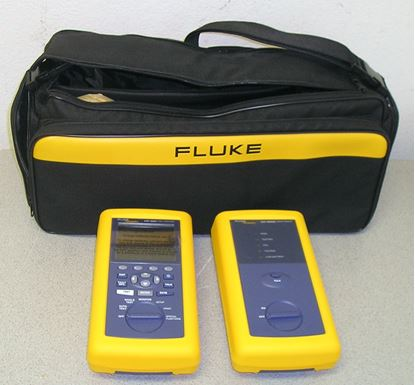 Picture of Fluke DSP-4000 CAT 5/6/6E Cable Tester