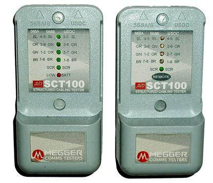 Picture of Megger SCT100 Cable Fault Locater