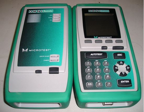 Picture of Fluke Networks/Microtest Omniscanner