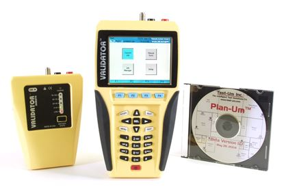 Picture of New Test-Um NT950 Cat5/6 Cable Tester/Certifier