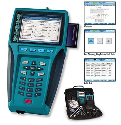 Picture of JDSU/Test-UM NT955 Validator-NT Cable Certification Test Set