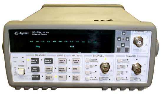 Picture of Agilent/HP 53131A 3 GHz Universal Frequency Counter