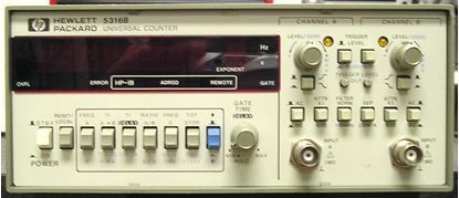 Picture of Agilent/HP 5316B Dual 100 MHz Counter