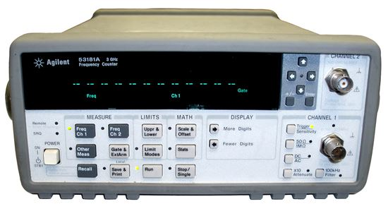 Picture of Agilent/HP 53181A Universal Frequency Counter