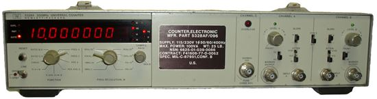 Picture of Agilent/HP 5328A 100 MHz Universal Frequency Counter
