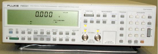 Picture of Fluke PM6681 High Resolution Programmable Timer Counter Analyzer