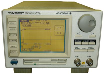 Picture of Yokogowa TA320 Time Interval Analyzer