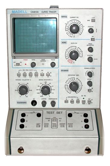 US-Instrument Services  Madell CA4810A Curve Tracer
