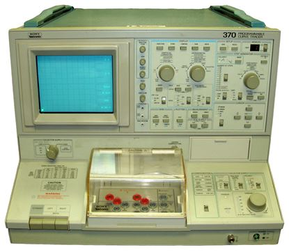 Picture of Tektronix 370 Curve Tracer