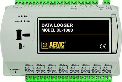 Picture of AEMC DL-1080 8 Channel Datalogger
